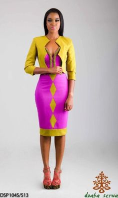 What do you think of the evolving Ghanaian fashion industry? A la mode wearhouse: Ghana Fashion Week African Print Dresses, African Wear, African Attire, African Women, African Dress, African Prints, African Inspired Fashion, African Print Fashion, Fashion Prints