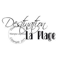 Texte : TAMPON DESTINATION LA PLAGE par Meldon                              … Calligraphy Words, Travel Nursing, Silhouette, Diy Photo, Letter Art, Vintage Images, Messages, Lettering, Album