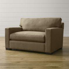 Axis II Twin Sleeper Sofa - Crate and Barrel