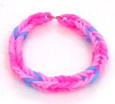 Pinkie Pie Inspired Friendship Bracelet My by TheNewFrontier
