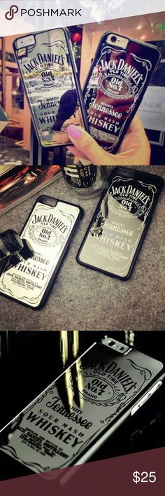 NEWiPhone Mirror Jack Daniels Case Reflective New iPhone 6/6s black logo + mirrored back case with jack Daniels logo to check yourself real quick! Super fun jack Daniels logo case! Pls make an offer via the button, only a limited amount available to reserve yours asap! Cheaper with bundling// check out my other cases! Jack Daniels Accessories Phone Cases