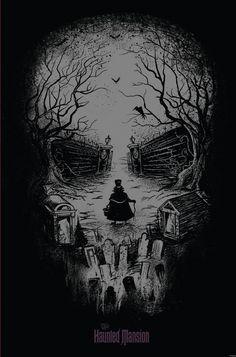 Haunted 45th Anniversary print
