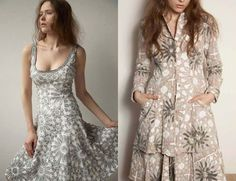 Alabama Chanin... inspring.  And it really would make the perfect maxi dress..