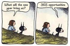 great take on what a New year brings