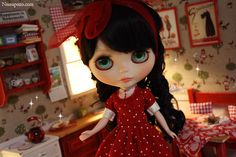 Diorama Red lu #Blythe