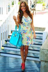 Seduced By Flowers Dress
