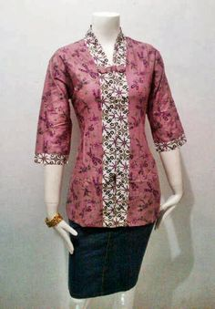 Blouse Batik Model Savira