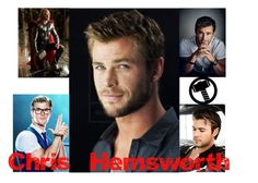 """""""Chris Hemsworth"""" by wannabefamous212 on Polyvore featuring art, marvel, thor, chrishemsworth, Kevin and ghostbusters"""