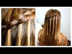 DIY Dutch Waterfall Braid   Cute Girls Hairstyles