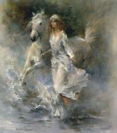 Artiste painter Netherlands. Willem Haenraets Romantic and dance painting