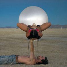 Dessert Acro Yoga ☮ Burning Man