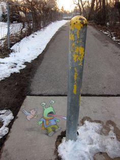 Chalk Art for All Seasons   David Zinn