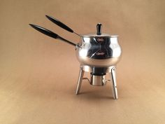 1962 Vintage Warmer / Fondue Set by RRelix on Etsy