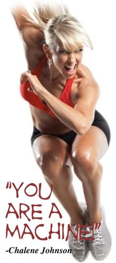- chalene johnson- I love these workout dvds!! so much funn!!!