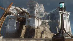 Картинки по запросу Dishonored 2  интерьер