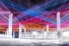 Sound in Three Dimensions with Yarn Threads – Fubiz Media