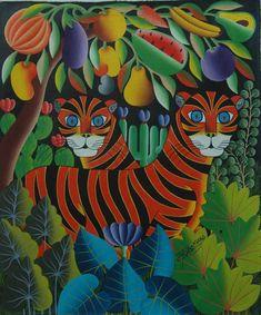Haitian Art by Pierre Maxo from Galerie Macondo