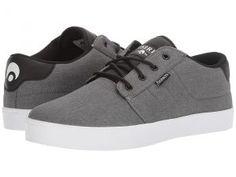 Osiris Mesa (Charcoal/White/Black) Men's Skate Shoes