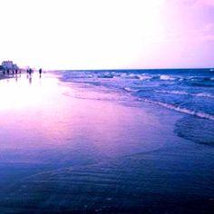 Daytona beach. Sunset