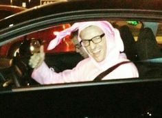 Chester Bennington, he would be an awesome cute bunny^^