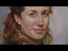"""Portrait painting video """"Learn how to make flesh colors instruction.""""   www.stunningportrait.com"""