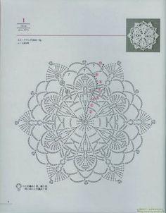 Revista diseño floral en crochet