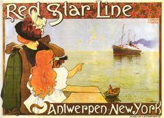 Vintage Travel Poster cruise line