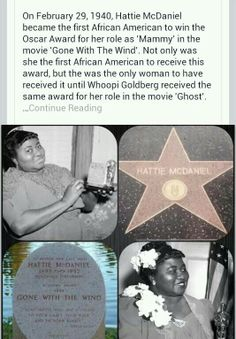 Hattie McDaniel Black History People, Black History Month, Hattie Mcdaniel, Life Matters, Vivien Leigh, People Of Interest, Gone With The Wind, Old Hollywood Glamour, Strong Women