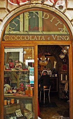 ~Rivendita Wine and Chocolate Bar Cafe, Rome, Italy | House of Beccaria#