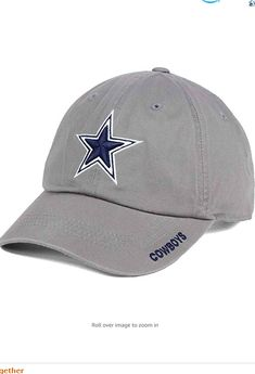 100% Cotton Imported 100% Cotton Imported About: Officially licensed NFL (National Football League) product by Dallas Cowboys. Dallas Cowboys Merchandise brings you the best in men's, women's and youth Dallas Cowboys fan gear apparel. Unstructured heavy garment washed cotton 6-panel lied buckle closure with woven loop label and front flat 3/D embroidery Cowboys Men, Nfl Dallas Cowboys, All Nfl Teams, National Football League, Fan Gear, 3 D, Youth, Baseball Hats, Label