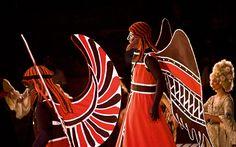 The ancient costumes in Epidaurus