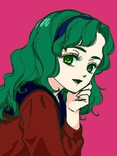 Michiru Kaiou (Sailor Neptune) fanart