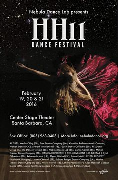Feb.19-21. HH11 Dance Festival, Santa Barbara, Feledi Project...:)