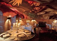 loveisspeed.......: Ramses Restaurant at Madrid Spain by Philippe Starck...
