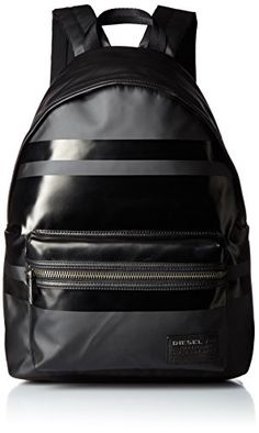 Diesel Mens Traveller Iron Back Backpack Black -- Be sure to check out this awesome product. This is an Amazon Affiliate links.