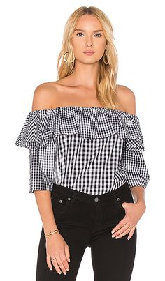 Shop for Lovers + Friends X REVOLVE Andrea Top in Mixed Black Gingham at REVOLVE. Free 2-3 day shipping and returns, 30 day price match guarantee.