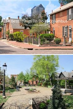 Here is the list of 11 best things to do in Columbus. If you are looking for the cool things to do in Columbus, this is an awesome list. Cheap Places To Travel, Cheap Travel, Cool Places To Visit, Huntington Park, Franklin Park, German Village, A Whole New World, Family Adventure, The Locals
