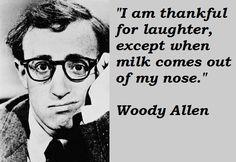 Woody Allen born Allan Stewart Konigsberg on December 1, 1935 in the Bronx, New York.