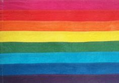 "01sentencereviews: "" eddycruz: ""The original flag, by Gilbert Baker, June 25, 1978. "" r.i.p. gilbert baker (2 June 1951 – 31 March 2017) """