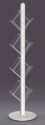 Free-standing Brochure Displays - Stack Brochure Stand, Brochure Display, Flooring, Free, Wood Flooring, Floor