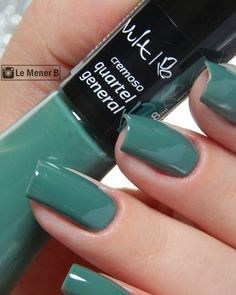 #unha #unhas #nail #nails #nailart #naildesign #esmalte #esmaltes #militar #cores #vult #coleçao #resenha #Swatches #verde #green #polish #glaze #nailpolish #girl #manicure #mani #fashion #beauty