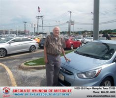 #HappyBirthday to Samuel W Smith from Larry Green  at Absolute Hyundai!
