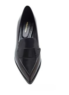 Don't leave loafers for the boys: there are plenty of sleek styles that feel professional. Choose a shoe with a pointed toe, and you'll  let everyone know you mean business. Nicholas Kirkwood Two-Tone Polished Leather Penny Loafers ($300, originally $595)