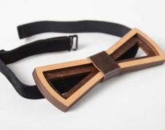 wooden bow tie – Etsy