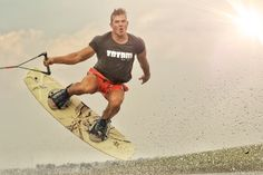 Wake boarding with Totam Surf Wear, Wakeboarding, Surfing, African, Sports, How To Wear, Hs Sports, Surf Clothes, Surf
