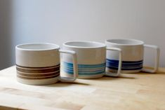 Brown and White Ceramic Mug with handle, Stoneware Handthrown Mug for tea and breakfast Latte Cups, Tea Cups, Stoneware Clay, Ceramic Mugs, Pottery Mugs, Safe Food, White Ceramics, Tableware, Handmade