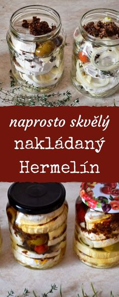 A Food, Food And Drink, Czech Recipes, Home Canning, Pizza, Cheese, Homemade, Meat, Baking