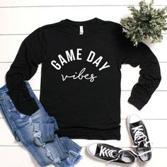 Game Day Shirt Baseball Mom Shirt Football Mom Shirt Baseball Shirt Football Shirt Lacrosse Mom Shirt Game Day Plus Size Sports Mom Shirts, Football Mom Shirts, Baseball Mom Shirts, Baseball Videos, Soccer Mom Outfits, Basketball Mom, Volleyball, Game Day Shirts, Vinyl Shirts