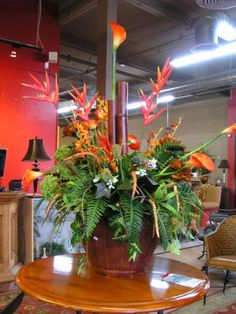 Beautiful Tropical Flower Floral Arrangement