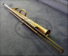 Slide saxophone, and you piccolo- trombonists thought youu guys were cool.